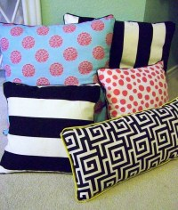 DIY No Sew Pillows | AllFreeSewing.com