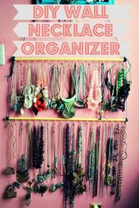 DIY Wall Necklace Organizer   AllFreeJewelryMaking.com