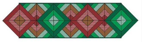 Free Modern Quilted Table Runner Patterns
