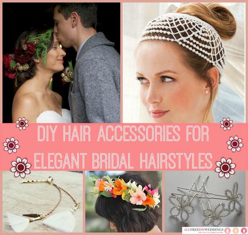 diy hair accessories elegant