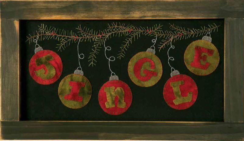Jingle Wool Applique Design