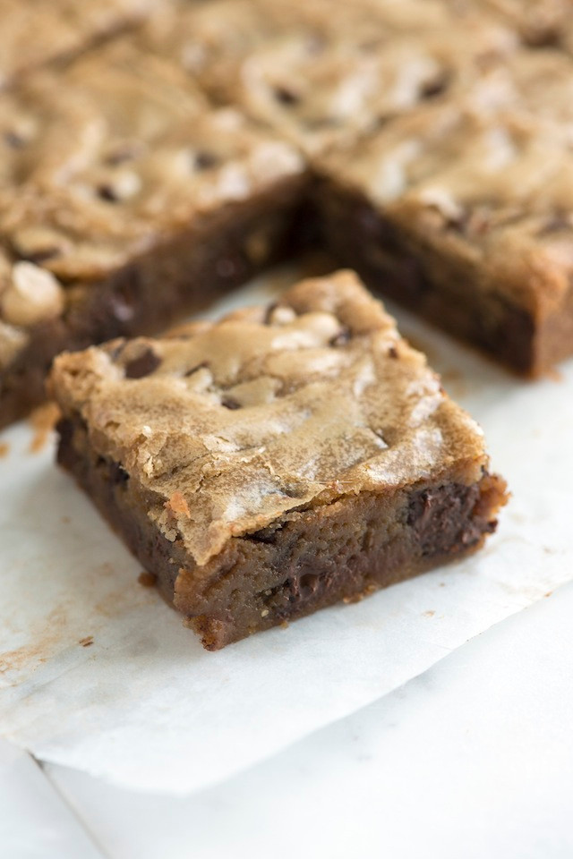 No Fail Blondie Bars Thebestdessertrecipes Com