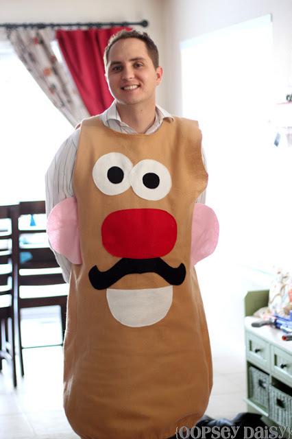 DIY Mr Potato Head Costume  AllFreeSewingcom