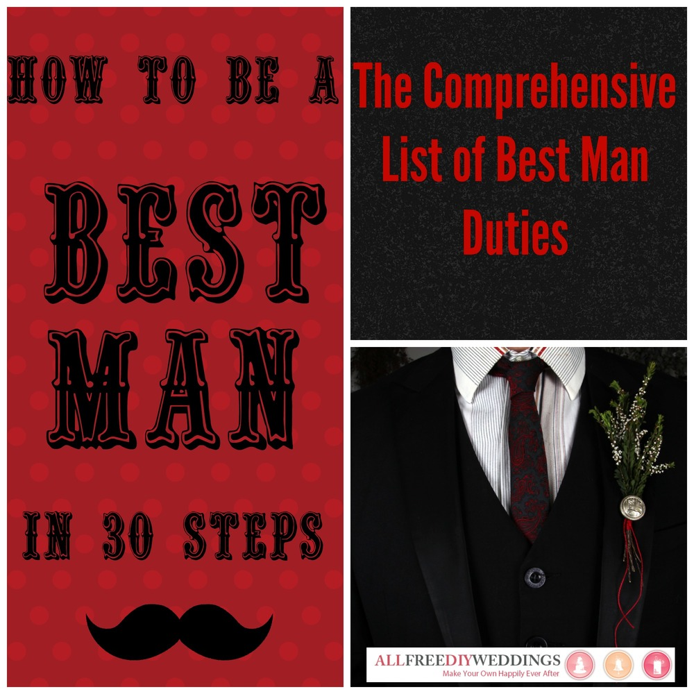 best man duties allfreediyweddings