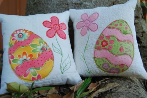 Easter Cushions  AllFreeSewingcom