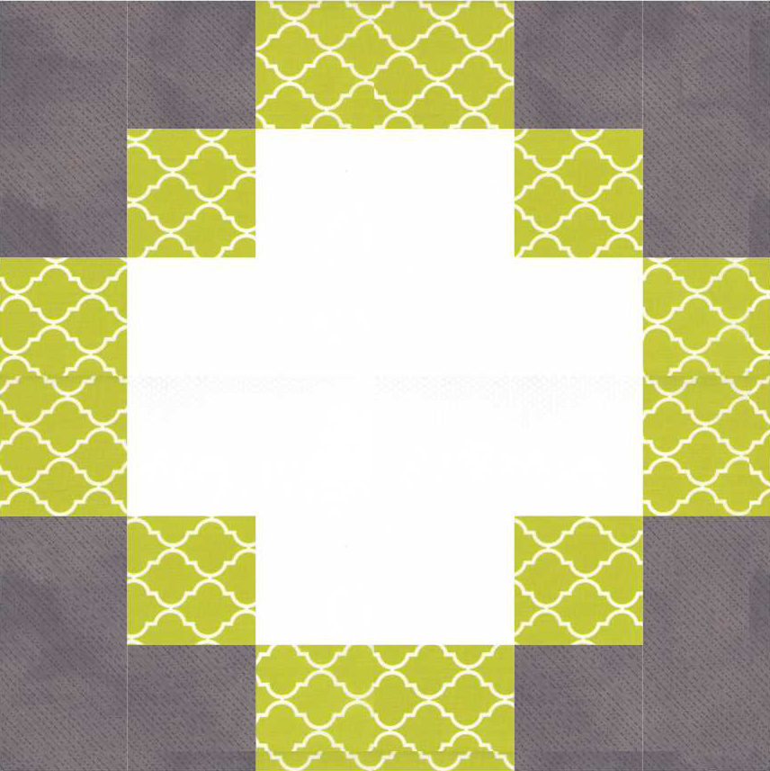 Antique Modern Quilt Block Pattern