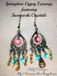 Springtime Gypsy Earrings | FaveCrafts.com