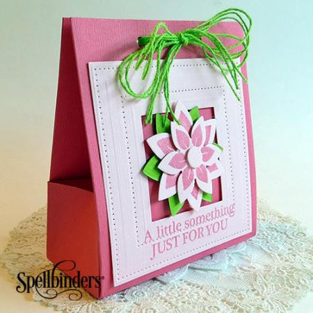 Spring Flowers Diy Gift Bag Allfreepapercrafts