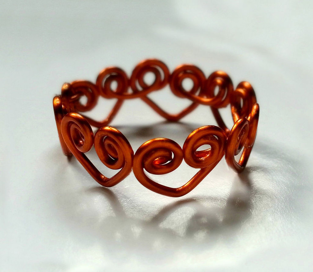 Heart Wrapped DIY Wire Ring