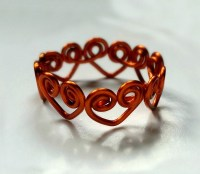 Heart Wrapped DIY Wire Ring   AllFreeJewelryMaking.com