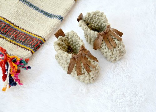 11aea8a78 Easy Knit Crazy Baby Booties