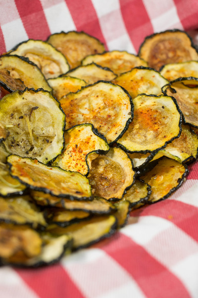 Baked Zucchini Chips  FaveHealthyRecipescom