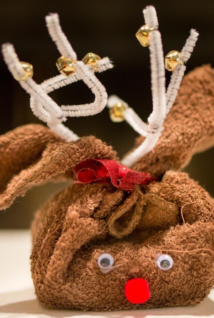 Reindeer Homemade Christmas Gift AllFreeHolidayCraftscom