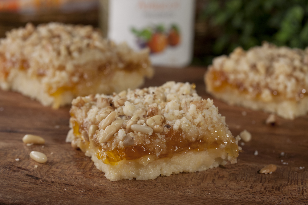 Apricot Crumb Bars  MrFoodcom