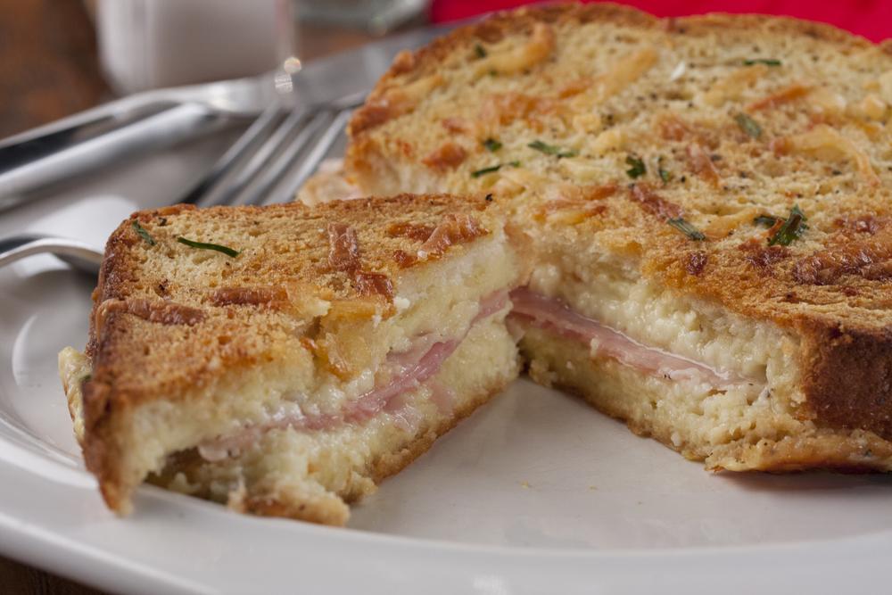 Farmhouse Ham And Cheese Bake