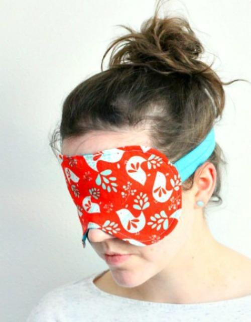 Oversized DIY Sleep Mask  AllFreeSewingcom