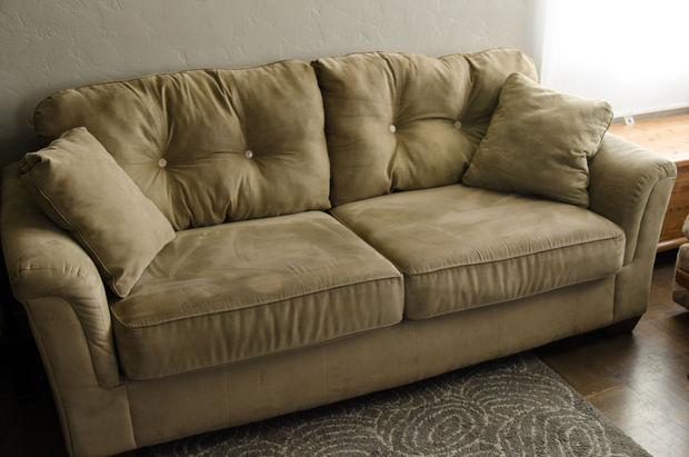 Cheap Fix for Saggy Couch Cushions  DIYIdeaCentercom