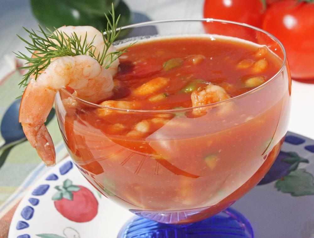 Chilled Shrimp Cocktail Soup  MrFoodcom