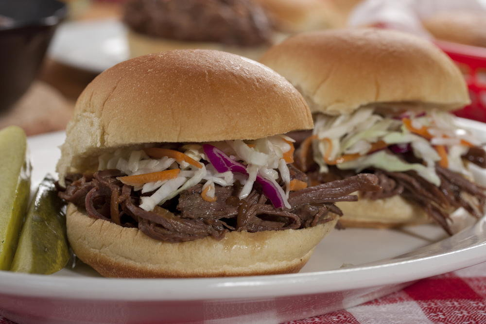 Pulled Brisket Sliders  MrFoodcom