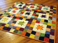 Starry Skies Baby Quilt | FaveQuilts.com