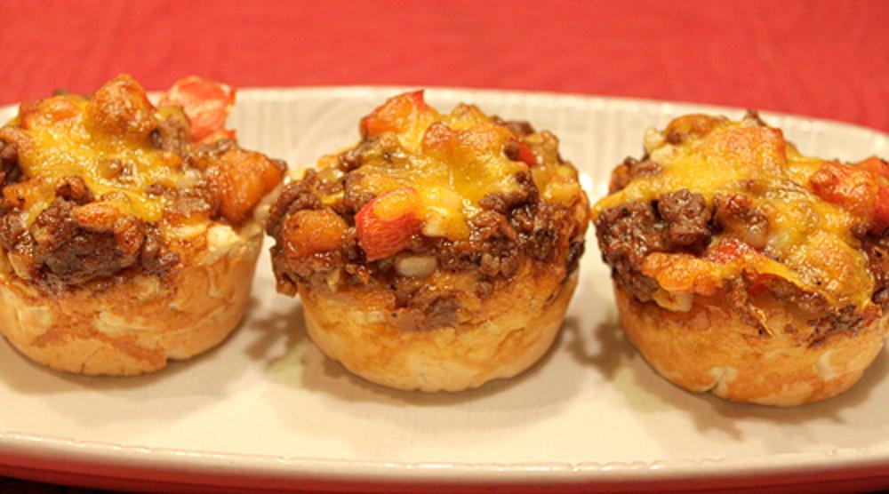 Mini Barbecue Beef Pies RecipeLioncom