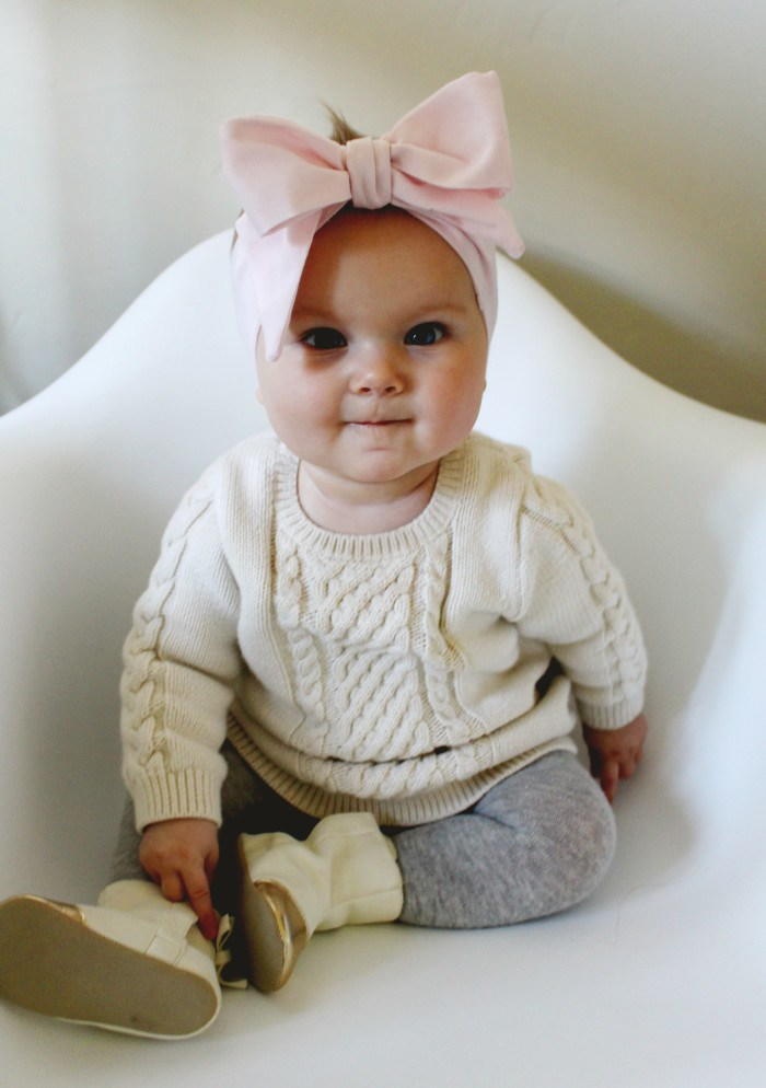 Oversized Bow DIY Baby Headband  AllFreeSewingcom