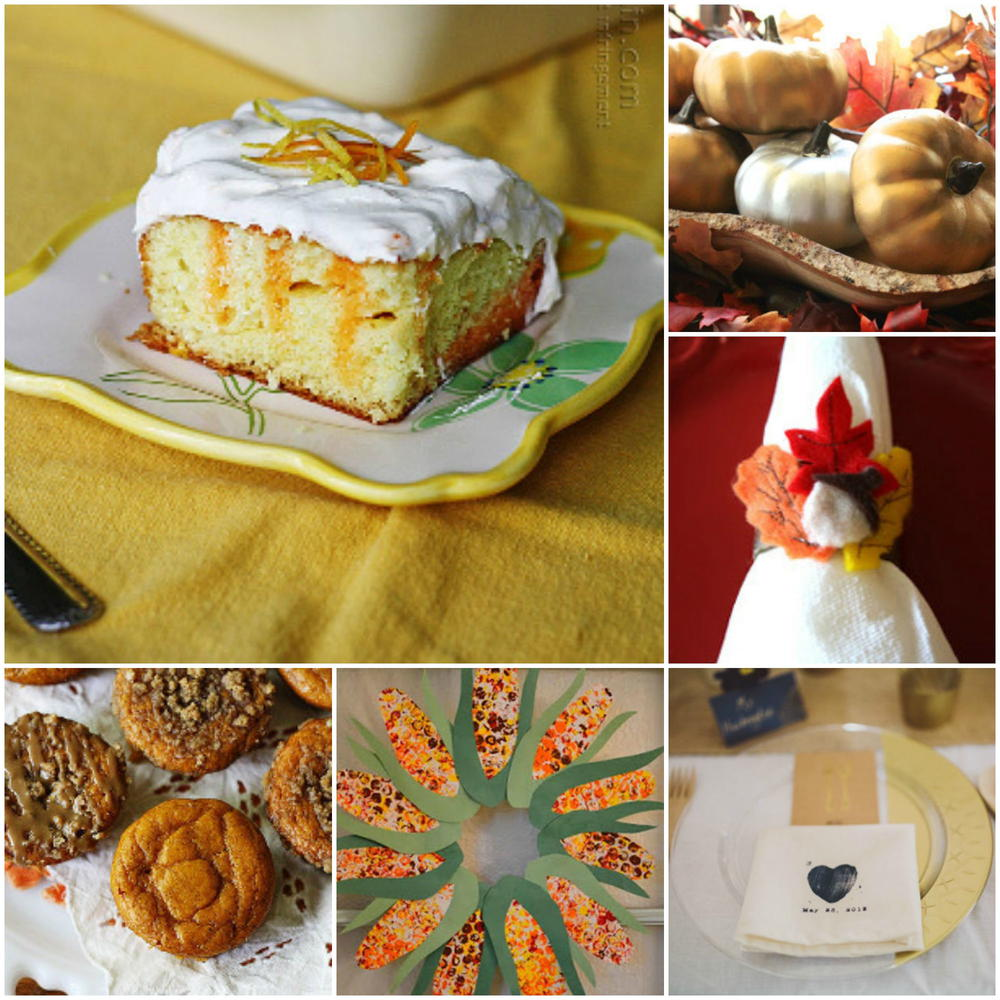 Thanksgiving Craft Ideas 60 Thanksgiving Recipes And