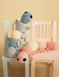 Caterpillar Cuddle Buddy | AllFreeCrochet.com