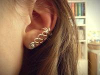 Hypnotic Crystal DIY Ear Cuff | AllFreeJewelryMaking.com