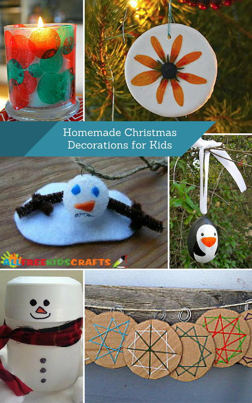 Christmas Decorations Children Make Home