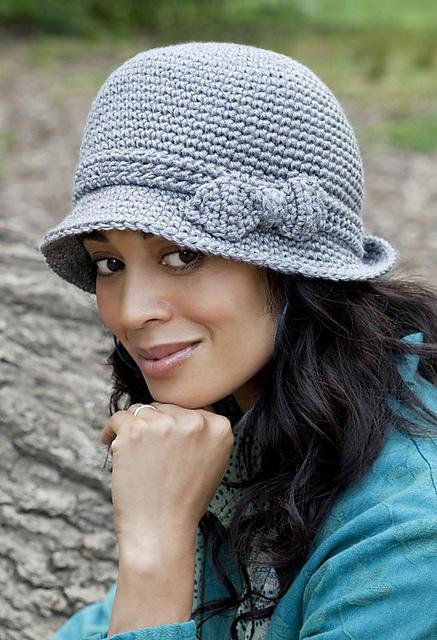 Free Cloche Hat Pattern : cloche, pattern, Middleton, Cloche, AllFreeCrochet.com