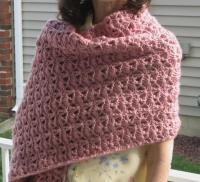 Princess Diana Crochet Shawl | AllFreeCrochet.com
