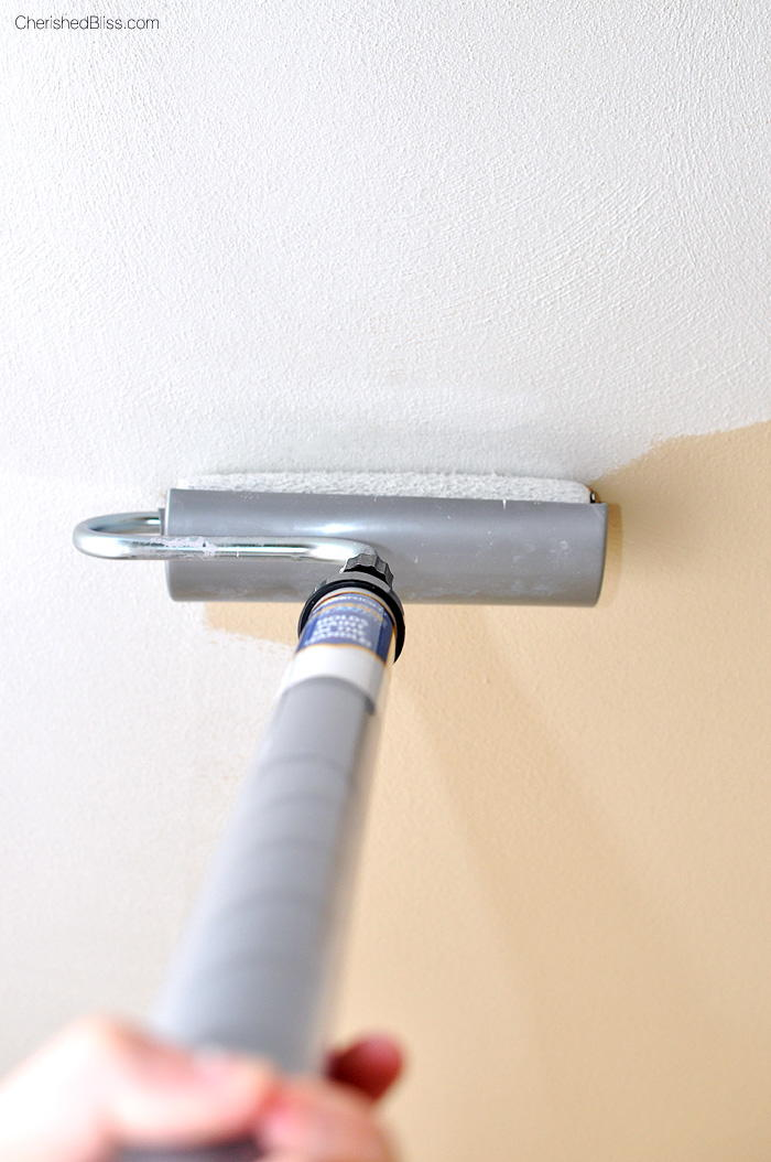 How to Paint a Ceiling  DIYIdeaCentercom