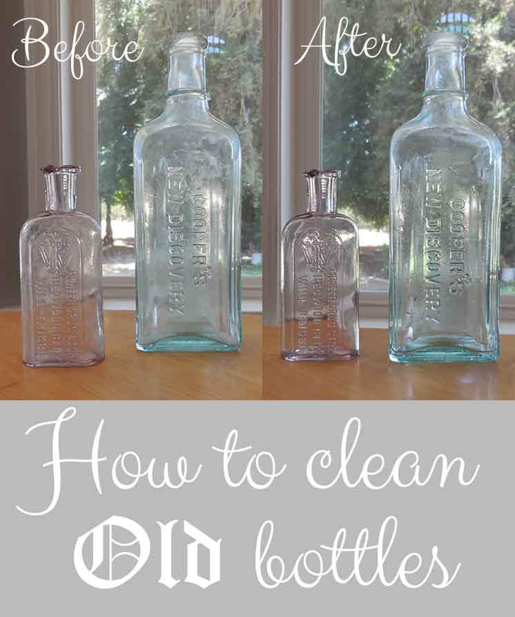 How to Clean Old Bottles  DIYIdeaCentercom