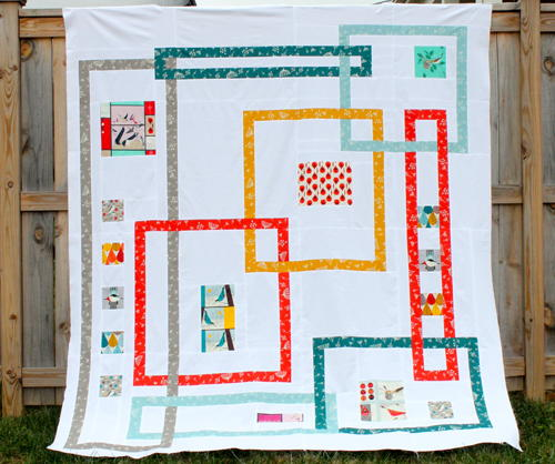 Interlock Modern Quilt Pattern  FaveQuiltscom