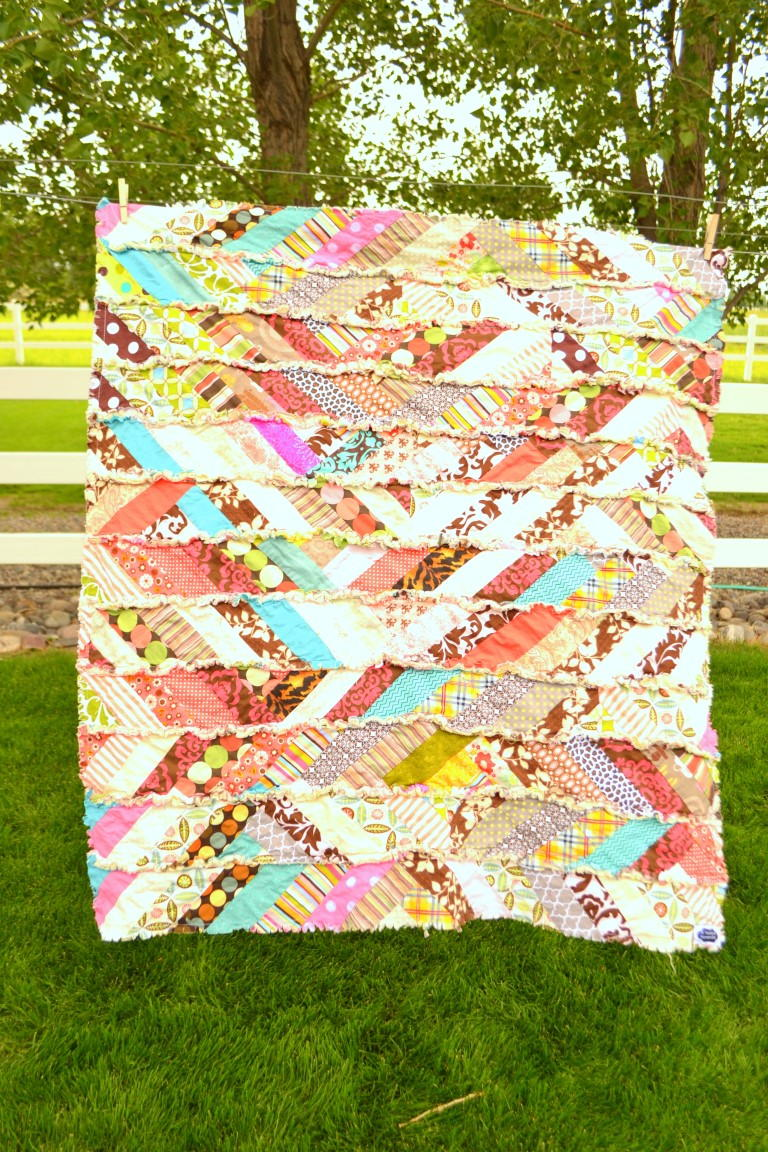 Its Fall Yall Rag Quilt  FaveQuiltscom