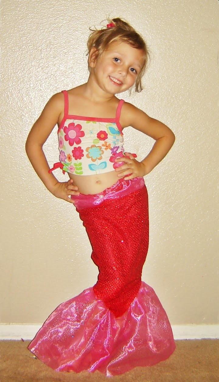Sparkly Mermaid Tale Halloween Costume  AllFreeSewingcom