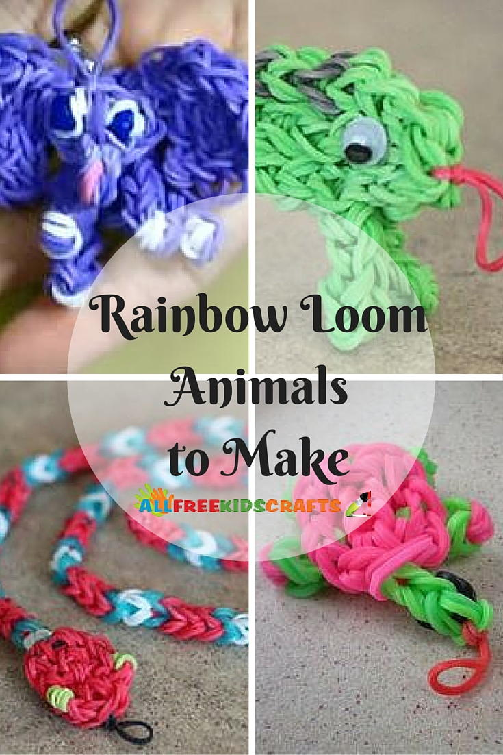 9 Rainbow Loom Animals To Make