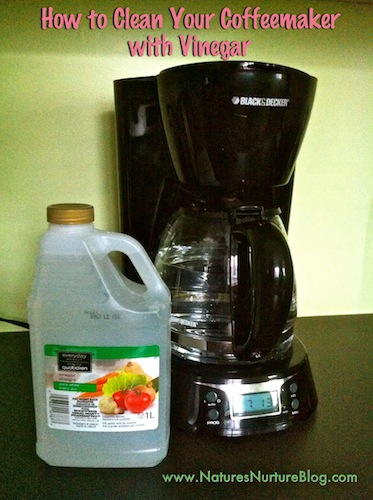 How to Clean a Coffee Maker  DIYIdeaCentercom