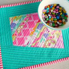 Window Treatments Kitchen Black Sink Scrappy Quilted Diy Placemats | Allfreesewing.com