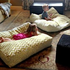 How To Sew Bean Bag Chair World Market Wicker Dining Chairs Giant Diy Floor Pillows | Allfreesewing.com