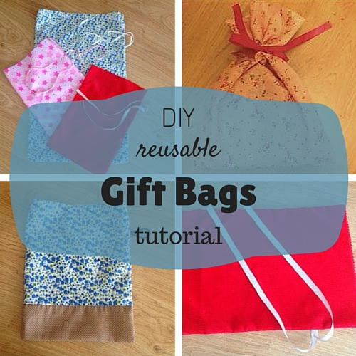 Reusable DIY Gift Bags  AllFreeSewingcom
