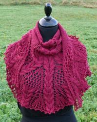 Croeso Knit Shawl | AllFreeKnitting.com