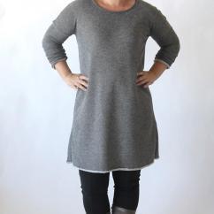 Fall Kitchen Decor Bronze Cabinet Hardware Flattering Sweater Dress Pattern | Allfreesewing.com