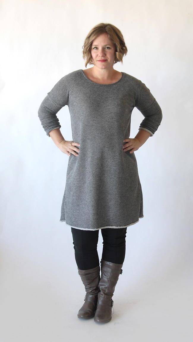 fall kitchen decor white island with stools flattering sweater dress pattern | allfreesewing.com