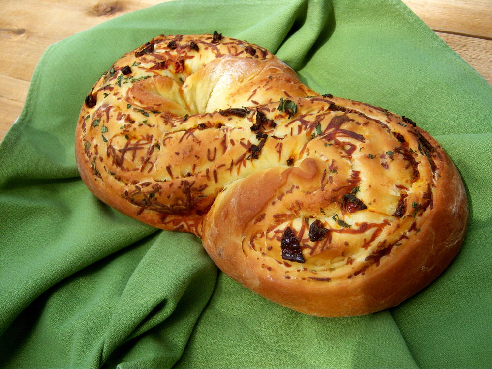 Tomato and Basil Bread  MrFoodcom