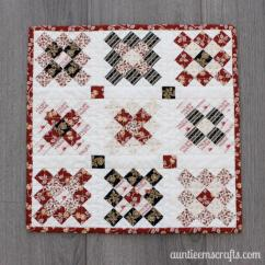 Kitchen Table Placemats Decorating Teeny Granny Square Mini Quilt | Favequilts.com