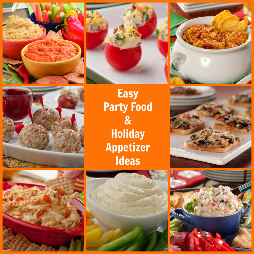 16 Easy Party Food and Holiday Appetizer Ideas  MrFoodcom