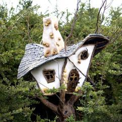 Ideas Decorating My Living Room Interior Design Images Fairy Garden Tree House Tutorial | Diyideacenter.com