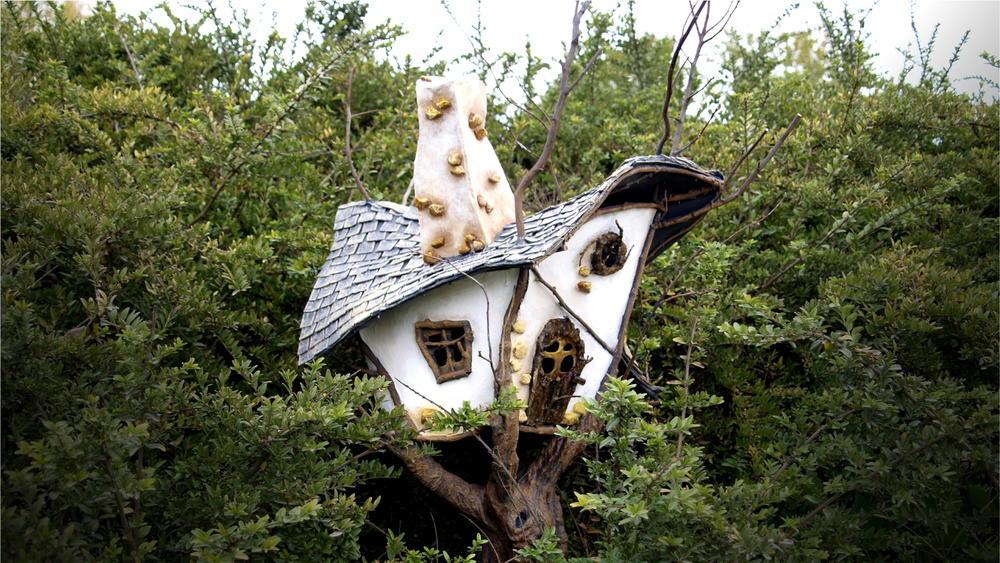 Fairy Garden Tree House Tutorial